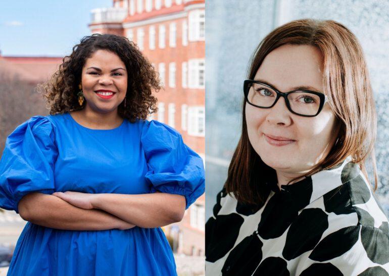 Fatim Diarra ja Silla Kakkola European Women's Lobbyn hallitukseen